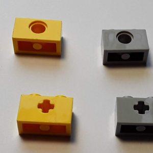 Small Studded Technic Beams
